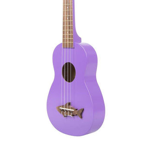 Kala Makala Shark Ukulele | Purple Finish