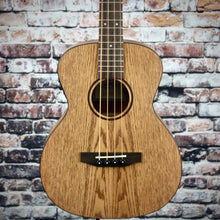 Lanikai Acoustic/Electric Bass Ukulele | Oak