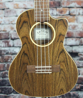 Lanikai Figured Bocote Electric Tenor Ukulele