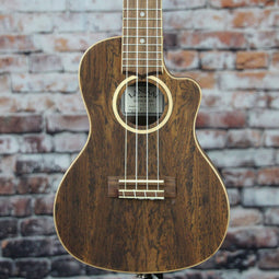 Lanikai Figured Bocote Thin Electric Concert Ukulele