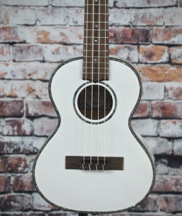 Lanikai Julia Michaels Signature Tenor Ukulele | White Pearl