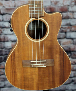 Lanikai Solid Acacia Top Tenor Ukulele With Kula Preamp | ACST-CET