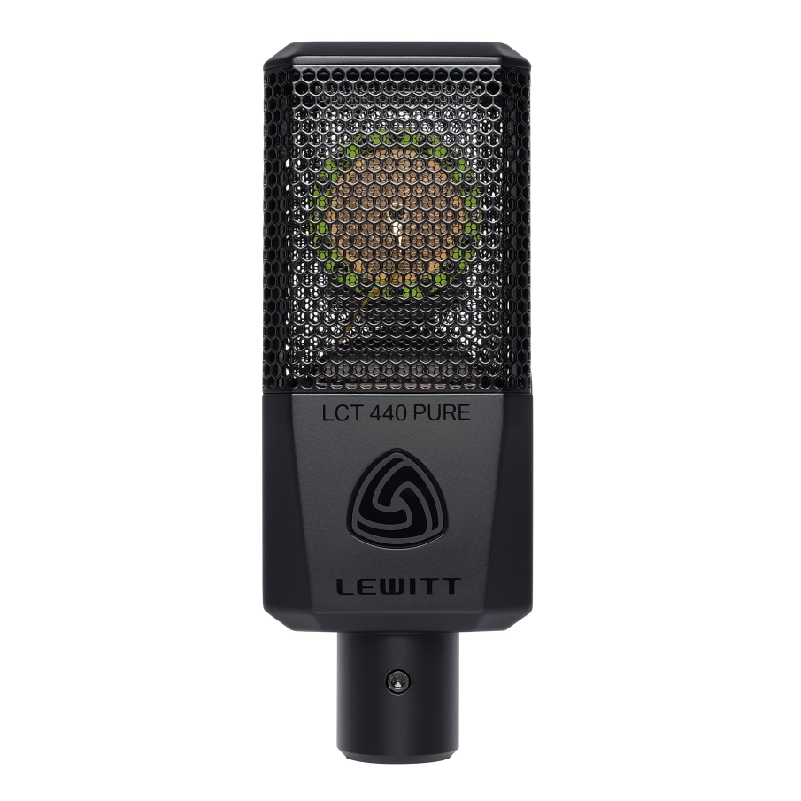 "Lewitt 1"" True Condenser Studio Microphone 