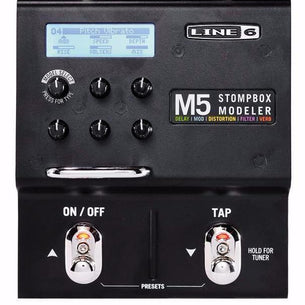 Line 6 M5 Multi Effects Guitar Pedal