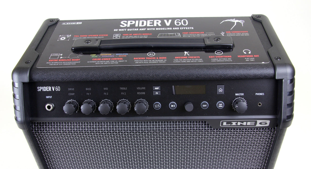Store Demo | Line 6 Spider V 60 Guitar Amplifier