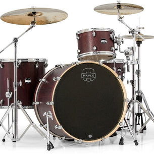 Mapex MA446S Mars Series Rock 24 Shell Pack Bloodwood Bloodwood - RW