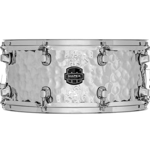 "Mapex MPST4658H Steel Hammered 14"" X 6.5"" Snare Drum"