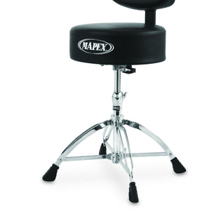 Mapex T770 Round Top Drum Thronew/Back Rest And 4 Legs