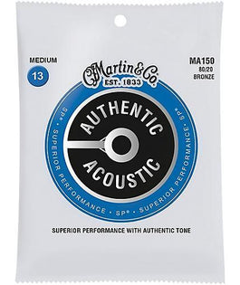 Martin MA150 SP 80/20 Bronze Acoustic Guitar Strings | Medium