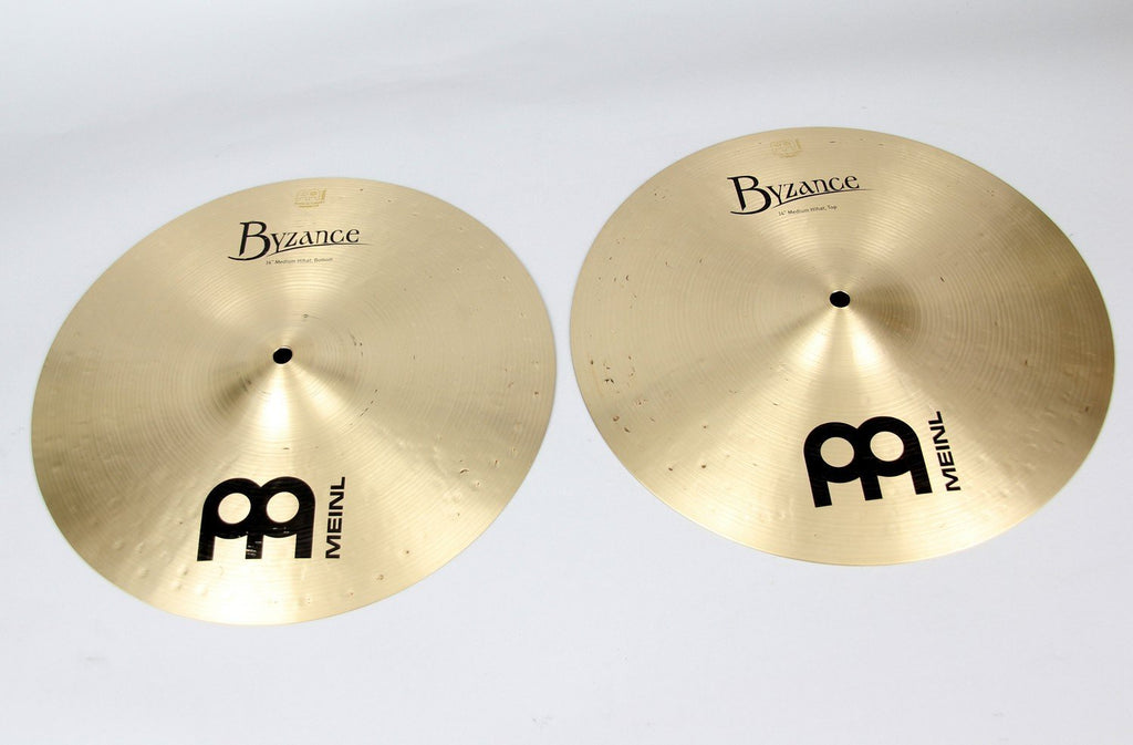"Meinl 14"" Byzance Traditional Medium Hi-Hat 