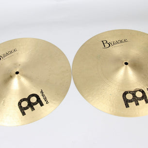 "Meinl 15"" Byzance Traditional Medium Hi-Hats 