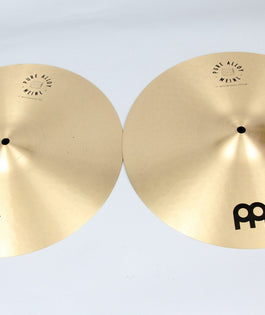 "Meinl 15"" Pure Alloy Medium Hi-Hats 