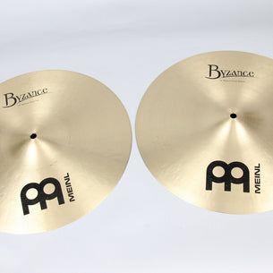 "Meinl 16"" Byzance Traditional Medium Hi-Hats 