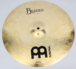 "Meinl 17"" Byzance Brilliant Medium Thin Crash Cymbal 