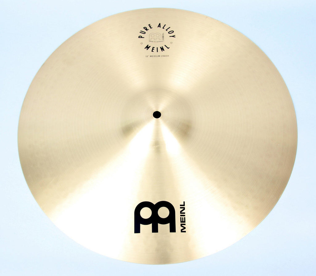 "Meinl 18"" Pure Alloy Medium Crash Cymbal 