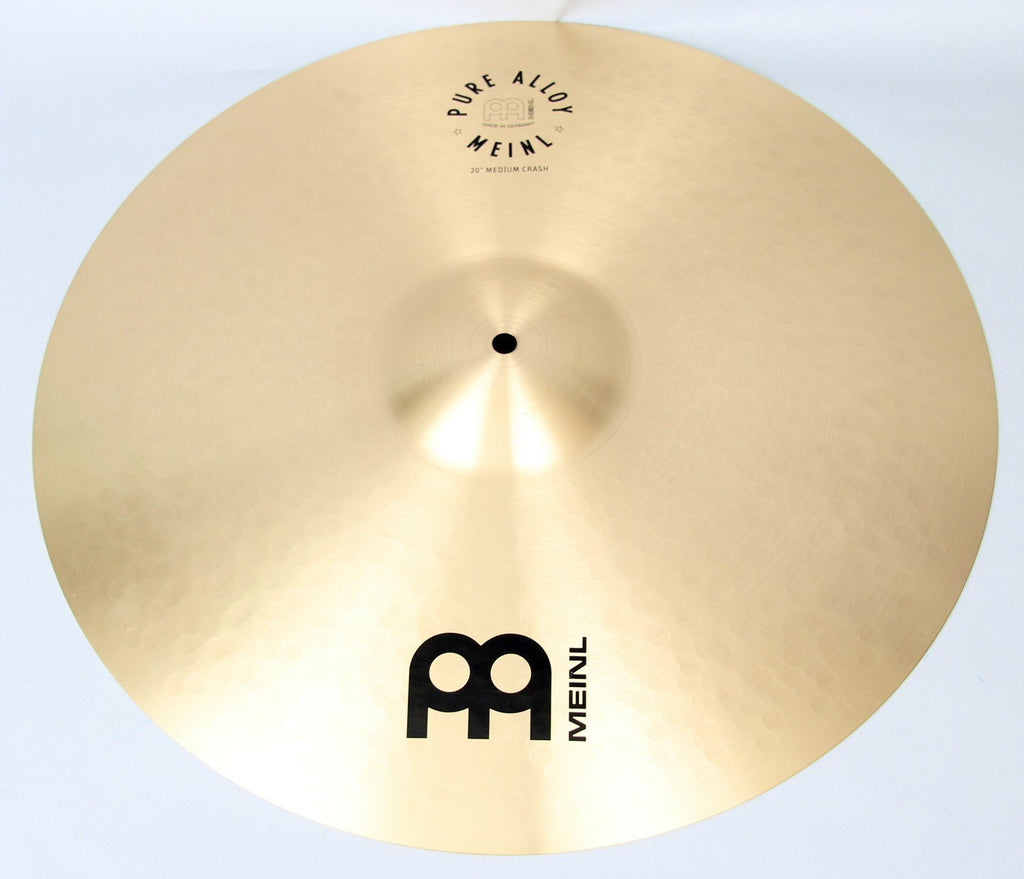 "Meinl 20"" Pure Alloy Medium Crash Cymbal 