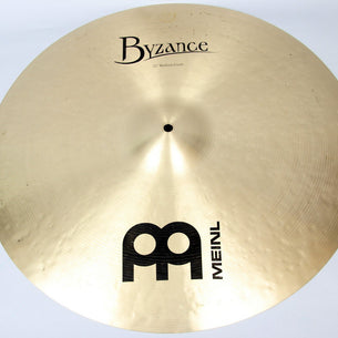 "Meinl 22"" Byzance Traditional Medium Crash Cymbal 