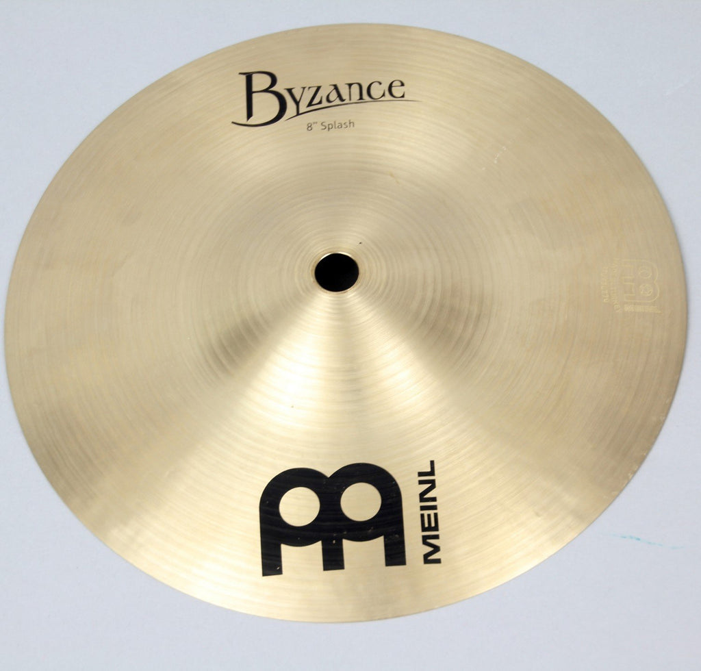"Meinl  8"" Byzance Traditional Splash Cymbal 