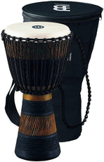 "Meinl ADJ3-M+BAG Rope Tuned 10"" Wood Djembe"