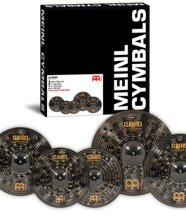 Meinl Cymbals Classics Custom Dark Cymbal Box Set