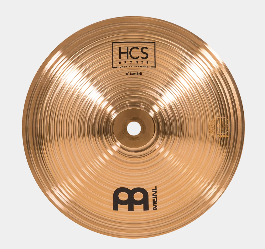 Meinl HCS Bronze Low Bell | 8""