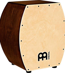 Meinl Jumbo Arch Bass Snare Cajon with Maple Frontplate Vintage Wine Barrel
