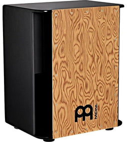 Meinl Vertical Subwoofer Snare Cajon with Makah Burl Frontplate