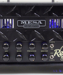 Mesa Boogie Custom Mini Rectifier Twenty-Five | Blackout & Blue LED