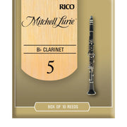 Mitchell Lurie Bb Clarinet Reeds, Strength 5.0, 10 Pack