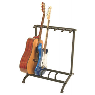 On Stage 5-Space Foldable Multi Guitar Rack | GS7561