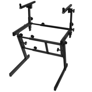 On Stage KS7365EJ Folding-Z Keyboard Stand w/ 2nd Tier