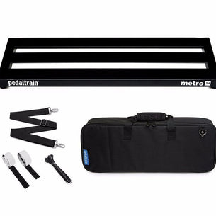 Pedaltrain PT-M24-SC Metro24 Pedal Board | With Soft Case