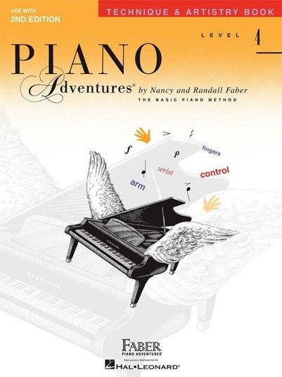 Piano Adventures Technique & Artistry | Level 4