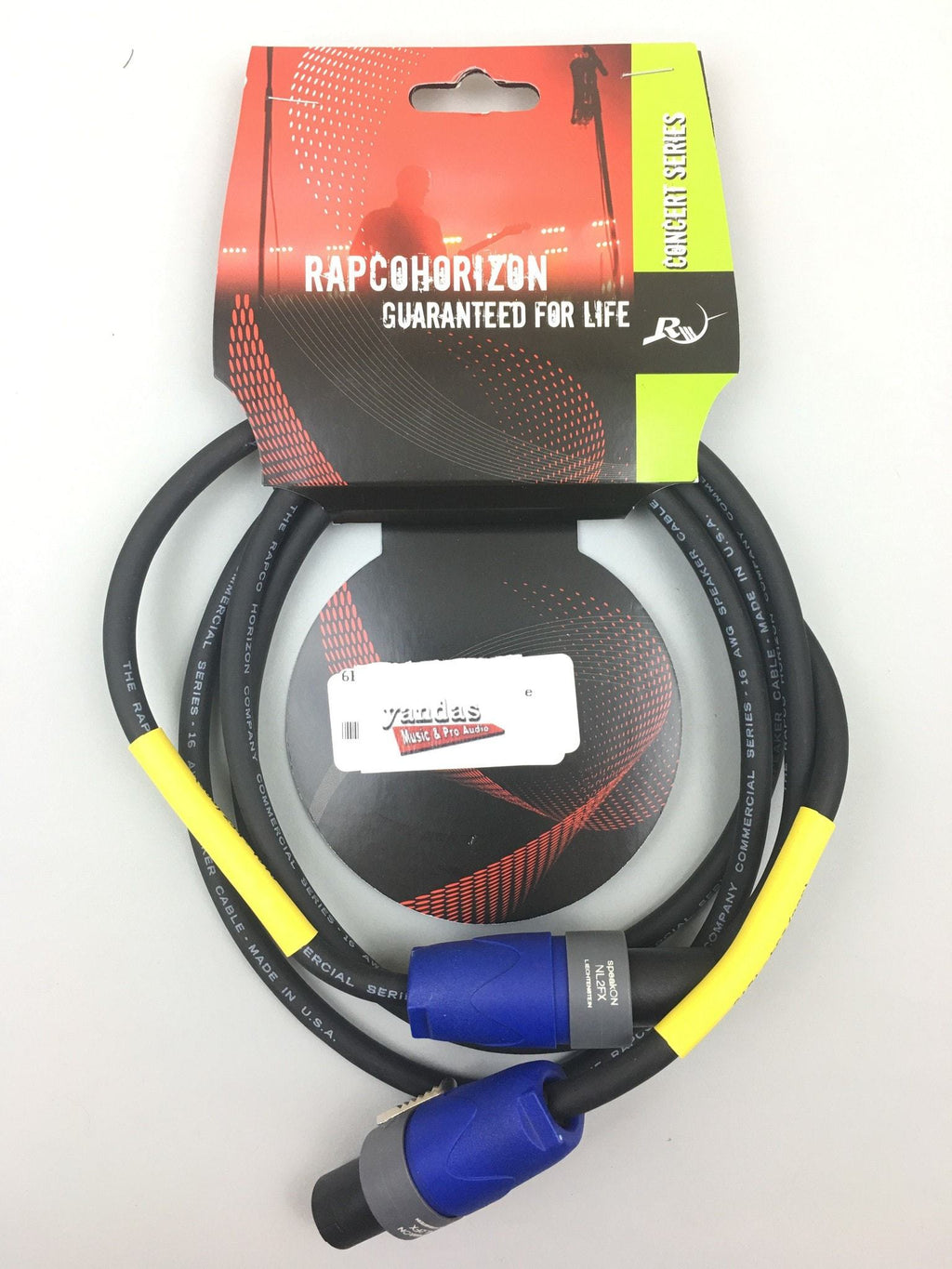 Rapco 6' 16 Gauge Speaker Cable | Speakon Connectors
