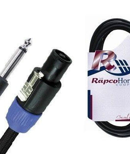 "Rapco R166ON 6 Foot Pro Audio Speaker Cable | 1/4"" to Speakon"
