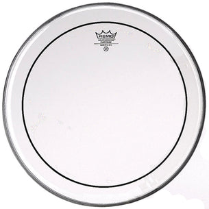 "Remo 20"" Clear Pinstripe Bass Drum Head"