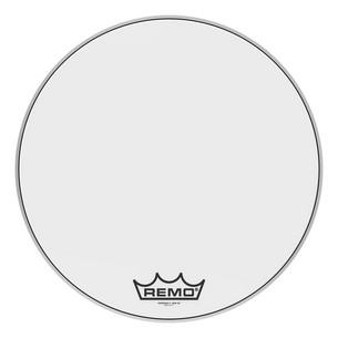 "Remo 24"" Powermax 2 Ultra White Crimplock Bass Drumhead"