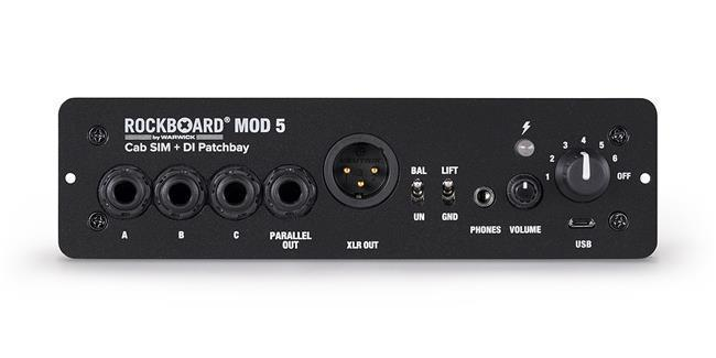 Rockboard MOD 5  DI+Speaker Simulator Patch Bay