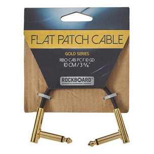 RockGear Gold Series Flat Patch Cabel | 10 cm