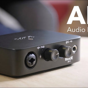 Rode AI-1 Studio-Quality USB Audio Interface