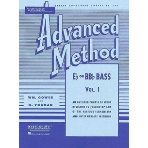 Rubank Advanced Method Vol 1 - Bass