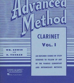 Rubank Advanced Method Vol 1 - Clarinet
