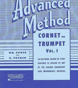 Rubank Advanced Method Vol 1 - Cornet or Trumpet