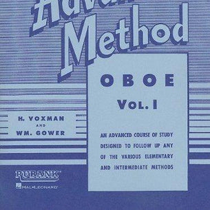 Rubank Advanced Method Vol 1 - Oboe