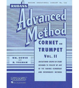 Rubank Advanced Method Vol 2 - Cornet or Trumpet