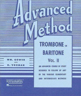 Rubank Advanced Method Vol 2 - Trombone/Baritone