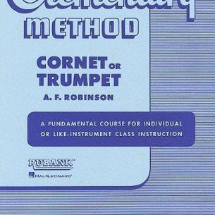 Rubank Elementary Method - Cornet or Trumpet