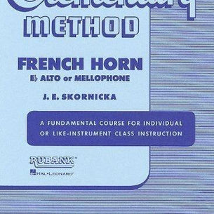 Rubank Elementary Method - French Horn