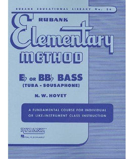 Rubank Elementary Method - Tuba or Sousaphone
