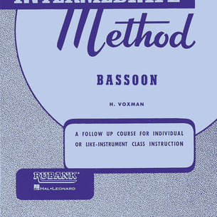 Rubank Intermediate Method Bassoon